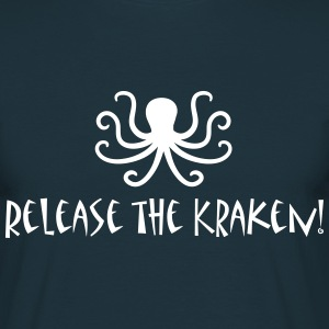 Release the Kraken T-Shirts - Men's T-Shirt