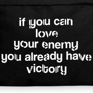 If you can love your ennemy Victory Sacs - Sac à dos