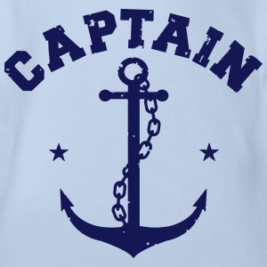 CAPTAIN ANKER T-Shirts - Baby Bio-Kurzarm-Body