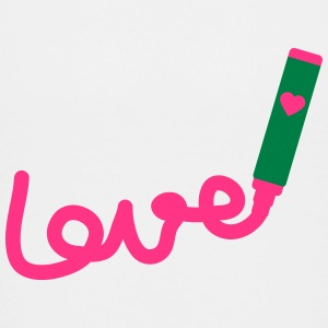 love with marker_p1 Shirts - Kids' Premium T-Shirt