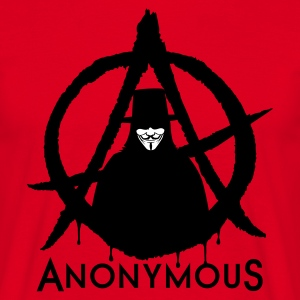 Anonymous A 2c T-Shirts - Männer T-Shirt