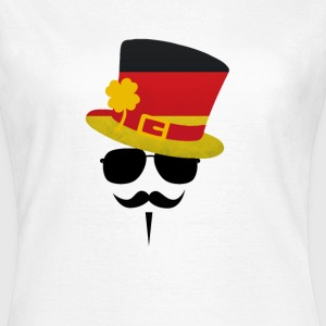 Germany Go Moustache T-shirts - Vrouwen T-shirt