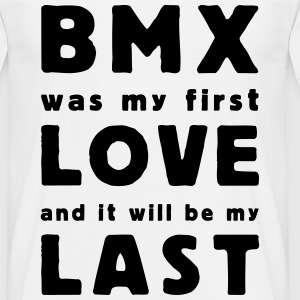 bmx was my first love T-shirts - Herre-T-shirt