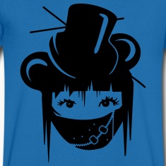 Girl in Visual Kei Style T-Shirts