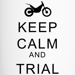 KEEP CALM and TRIAL Flaschen & Tassen - Thermobecher