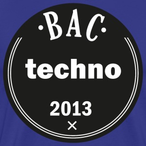 T-Shirt Bac techno 2013 - T-shirt Premium Homme