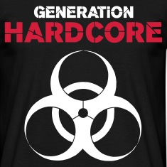 Black Generation Hardcore Men's Tees