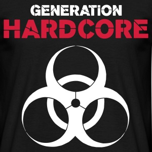 Black Generation Hardcore Men's Tees - Men's T-Shirt