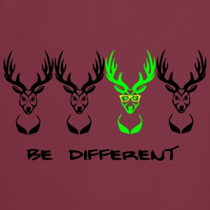 Be different! Un cerf Nerd Geek 3c Tabliers - Tablier de cuisine