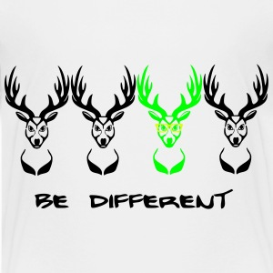 Be different! Deer Nerd Geek 3c Shirts - Teenage Premium T-Shirt
