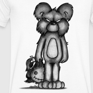 Teddy T-Shirts - Men's V-Neck T-Shirt