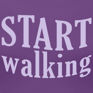 START walking | Frauen classic - Frauen Premium T-Shirt