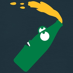 Flying Beer Bottle T-shirts - Herre-T-shirt
