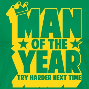 man_of_the_year_02 T-shirts - Mannen Premium T-shirt