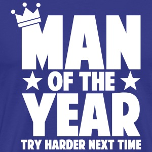 man_of_the_year_01 T-skjorter - Premium T-skjorte for menn