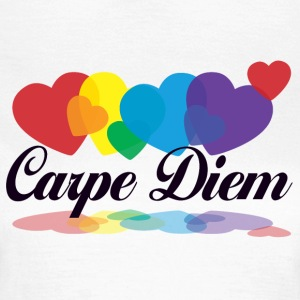 rainbow carpe diem T-Shirts - Women's T-Shirt