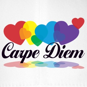 rainbow carpe diem Caps & Hats - Flexfit Baseball Cap
