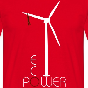 Windrad Eco Power Shirt - Männer T-Shirt