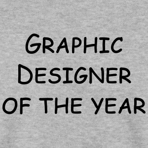 graphic designer of the year Hoodies & Sweatshirts - Men's Sweatshirt
