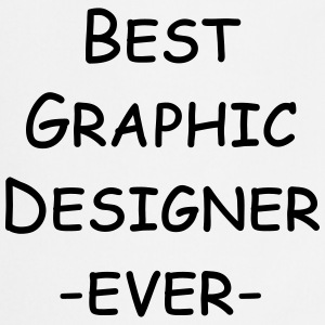best graphic designer ever  Aprons - Cooking Apron