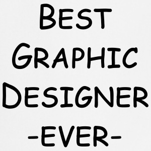 best graphic designer ever Kookschorten - Keukenschort