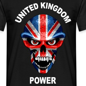united kingdom power 2 T-Shirts - Men's T-Shirt