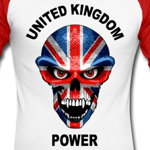united kingdom power 1 Long sleeve shirts - Men's Long Sleeve Baseball T-Shirt