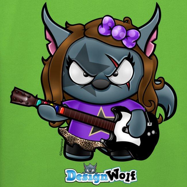 Little Rock Star Wolf