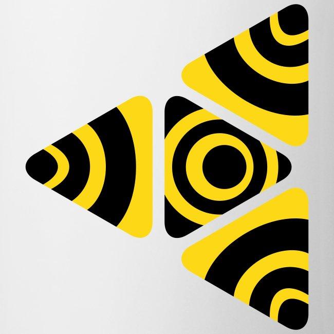 Zebra Triangle Tasse