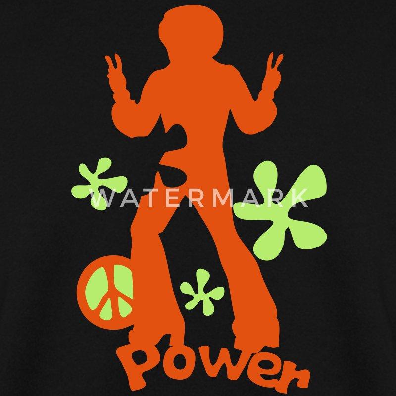 Sweat shirt annee 70 years11 seventies disco peace - Disco annee 70 ...