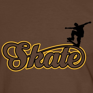 skate Tee shirts - T-shirt contraste Homme