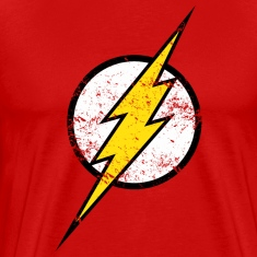 Tee-shirt Homme logo Justice League Flash