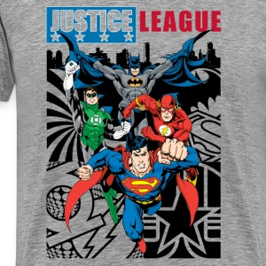 Tee-shirt Homme Justice League Comic Cover 1 - T-shirt Premium Homme