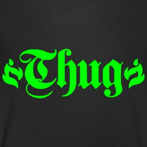 thug T-Shirts - Men's V-Neck T-Shirt