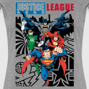 Justice League Comic Cover 1 T-shirt dam - Premium-T-shirt dam