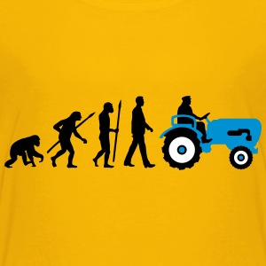 evolution_bauer_mit_treaktor_032013_a_3c T-Shirts - Teenager Premium T-Shirt