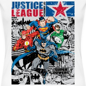 Justice League Comic Cover 2 Frauen T-Shirt - Frauen Premium T-Shirt