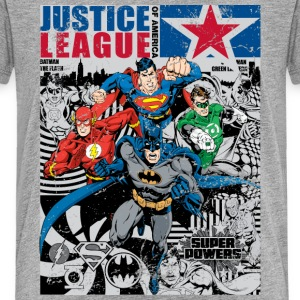 Justice League Comic Cover 2 Kinder T-Shirt - Kinder Premium T-Shirt
