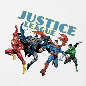 Justice League Character Mix 2 T-shirt barn - Ekologisk T-shirt barn
