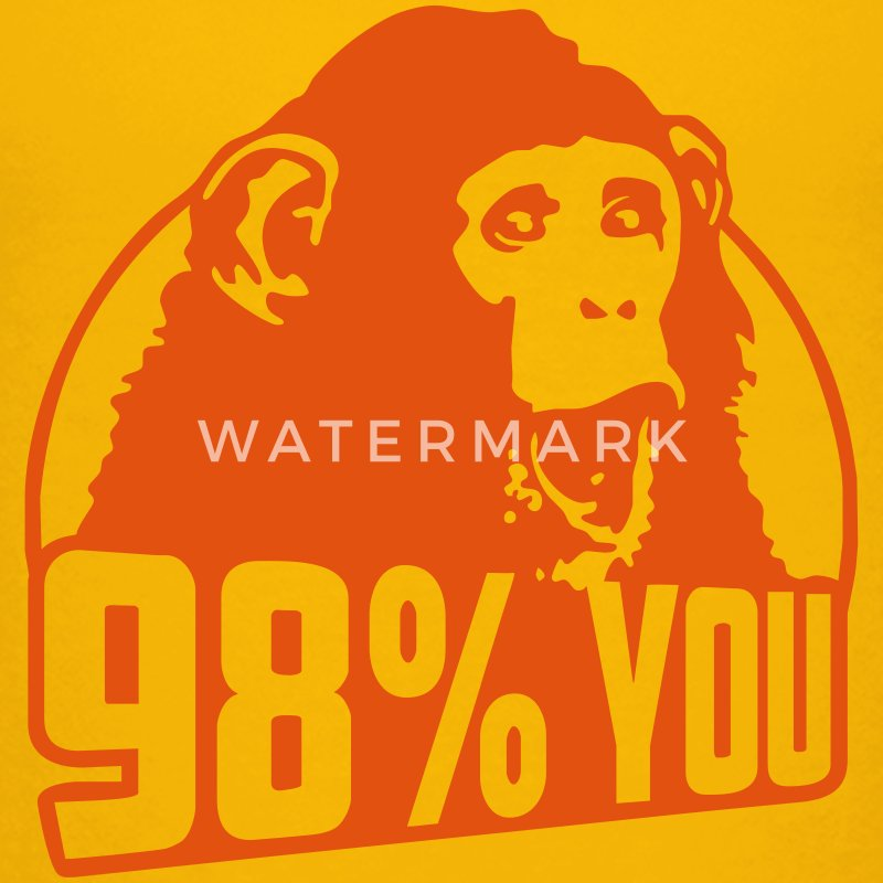 98 percent you monkey Tee shirts - T-shirt Premium Ado