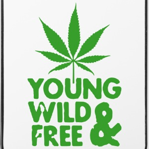 young wild and free weed leaf Sonstige - iPhone 4/4s Hard Case