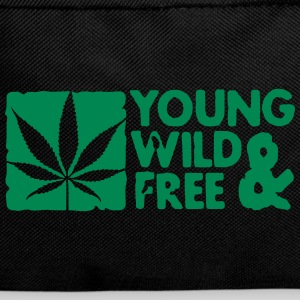 young wild and free weed leaf boxed Torby - Plecak