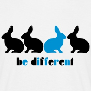 Be different Bunny Rabbit Unique Unique 2c T-Shirts - Men's T-Shirt