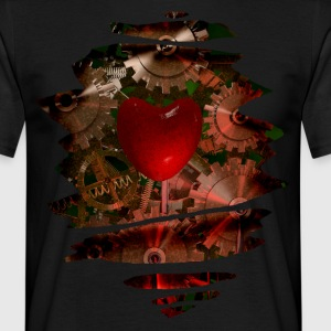 Machine Heart T-Shirts - Men's T-Shirt