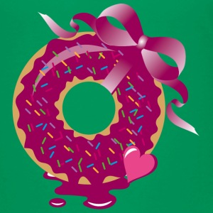 A donut with a ribbon Shirts - Kids' Premium T-Shirt