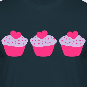 Three Muffins T-Shirts - Männer T-Shirt
