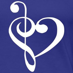 music_love T-Shirts - Frauen Premium T-Shirt