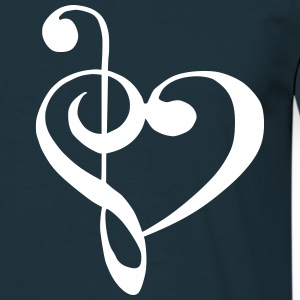 music_love T-shirts - Mannen T-shirt