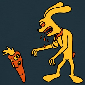Hungry Monster Bunny T-shirts - Herre-T-shirt