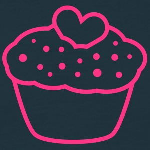 Heart Muffin T-Shirts - Men's T-Shirt